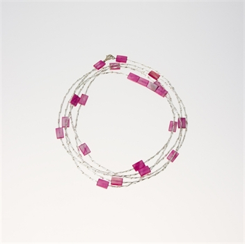 Picture of Glass Bead Necklace NL804