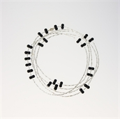 Picture of Glass Bead Necklace NL805