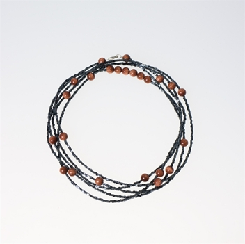 Picture of Glass Bead Necklace NL807
