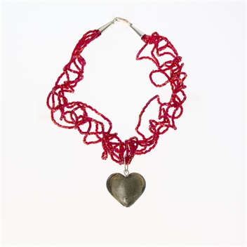 Picture of Glass Bead Necklace NL811