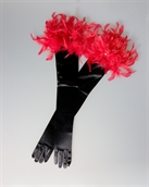 Picture of Black Evening Gloves GL2004