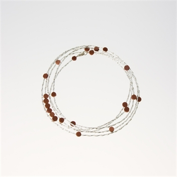 Picture of Glass Bead Necklace NL806