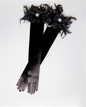Picture of Black Evening Gloves GL2002