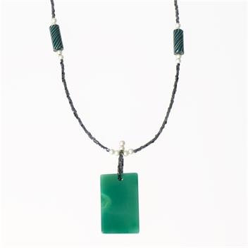 Picture of Glass Bead Necklace NL817