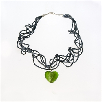 Picture of Glass Bead Necklace NL810