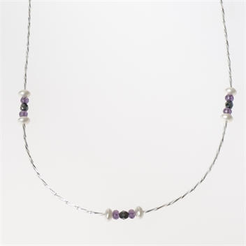 Picture of Glass Bead Necklace NL814