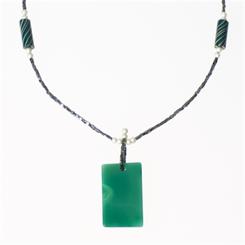 Picture of Glass Bead Necklace NL815